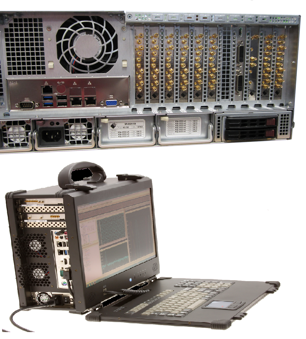 Examples of modular test systems