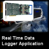 Real Time PCIe Data Logger Application