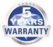 Spectrum 5 yreas warranty seal