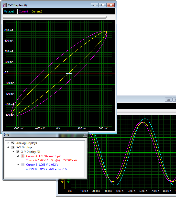 SBench 6 X/Y Display