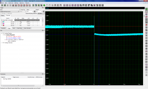 Graph with load regulation test