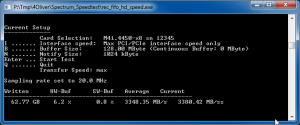 Command Line Speed Test Tool