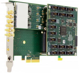 Picture of a single M2p card with star-hub 16 top-mount