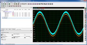 Boxcar Average noisy sine example