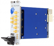 PXIe 4 channel card